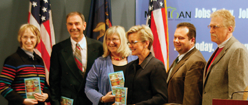 Breezeway Task Force members with Gov. Granholm